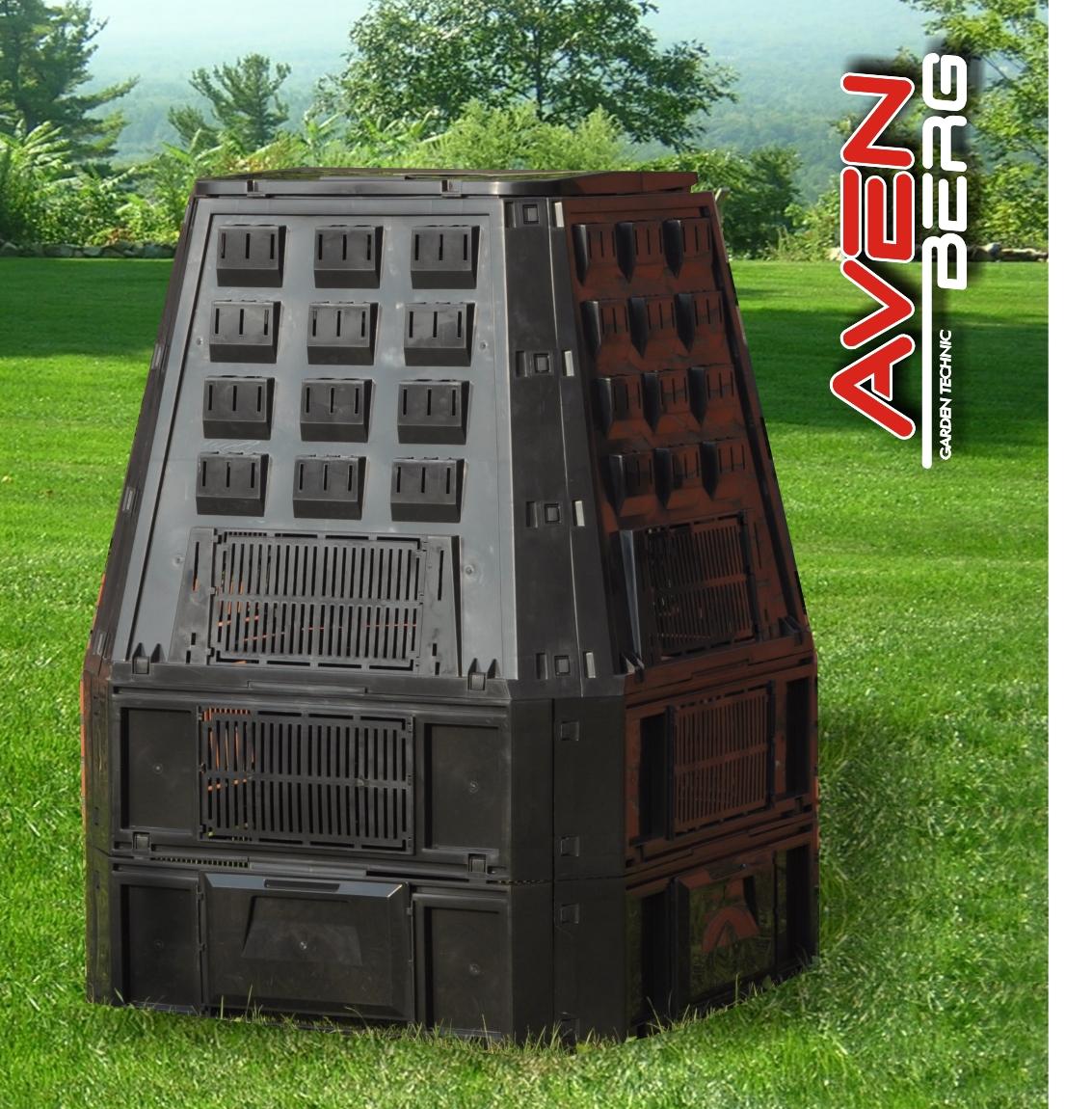 Zahradní kompostér AVENBERG ECOGREEN 600L