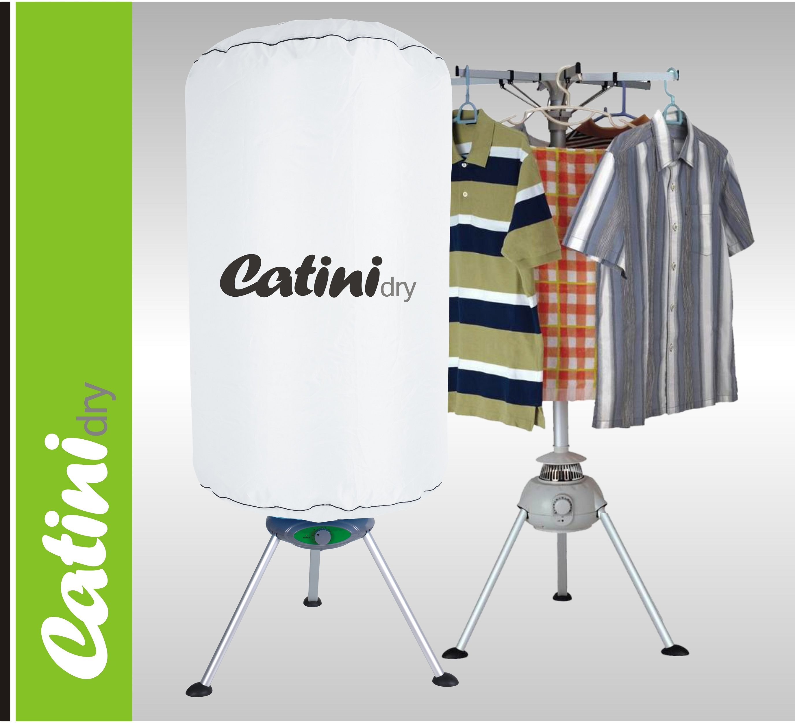 Odvětrávací elektrická sušička prádla CATINI Dry