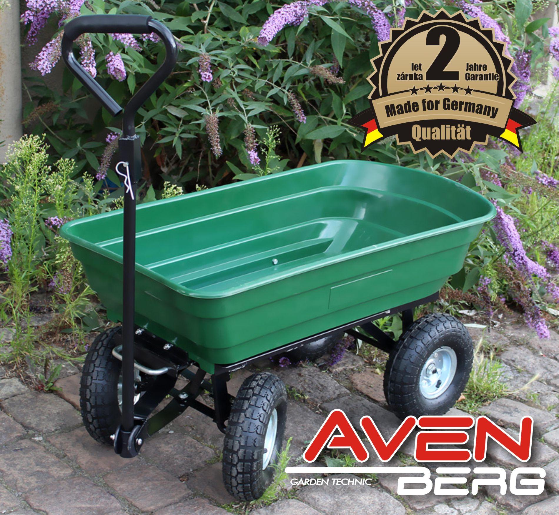 Zahradní vozík AVENBERG WAGNER 125L