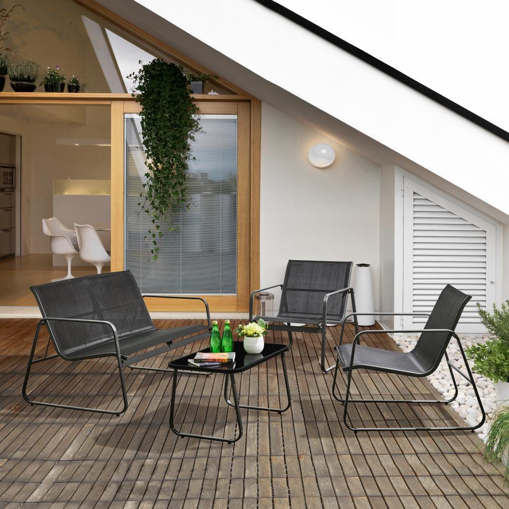 Set zahradního nábytku 4-dílný Avenberg Metropolitan